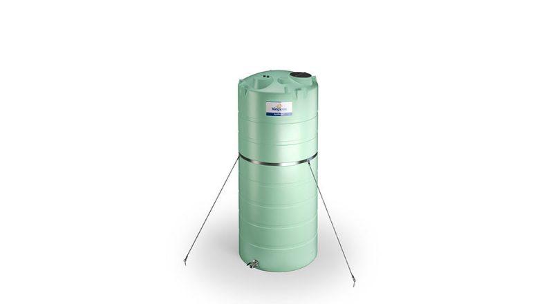 "Agrimaster - jednoplášťová nádrž na DAM 20000 litrov, 2"" spodné výpustné hrdlo"