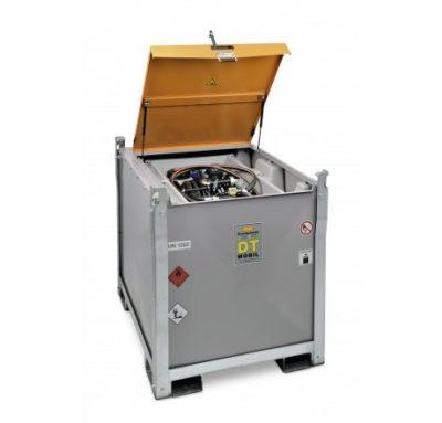 Mobilná dvojplášťová nádrž na naftu DT-MOBIL PRO PE 980 litrov, 12V MAX