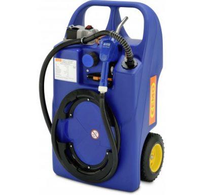 Mobilná nádrž na AdBlue 60 litrov– elektrické čerpadlo 12V BATERY