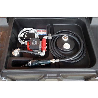Mobilná nádrž na naftu 440 litrov, 230V bez veka