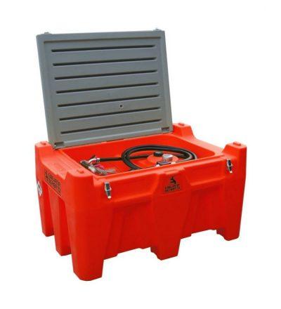 Mobilná nádrž na olej 330L – el.čerpadlo 12V