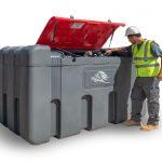 Dvojplášťová nádrž na AdBlue - BM 2300 litrov