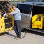 Mobilná nádrž na naftu 220 litrov, 24V bez veka