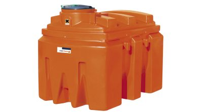 Dvojplášťová nádrž na chemikálie 2500 litrov