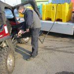 Mobilná nádrž na naftu 440 litrov, 12V