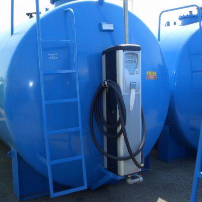 Dvojplášťová nádrž na naftu ES- ležatá 3000 -50000 litrov