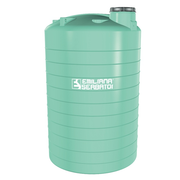 Polyetylénová nádrž na vodu 1500 litrov -stojatá