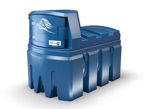 Dvojplášťová nádrž na AdBlue - BlueMaster 2500 litrov Terminál