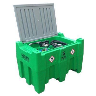 Mobilná nádrž na benzín 440L - el.čerpadlo 12V ATEX