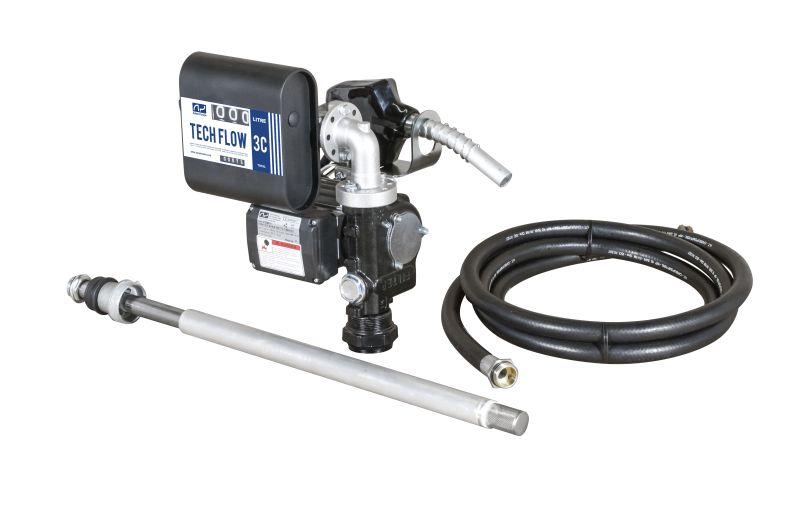 Čerpacia zostava s prietokomerom sudová DRUM TECH 40 l/min-12V