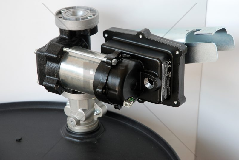 Čerpadlo na benzín PIUSI EX 50 - 12V ATEX + držiak na sud