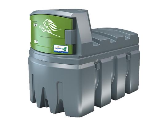 Dvojplášťová plastová nádrž na naftu FuelMaster® 2500 l TOP