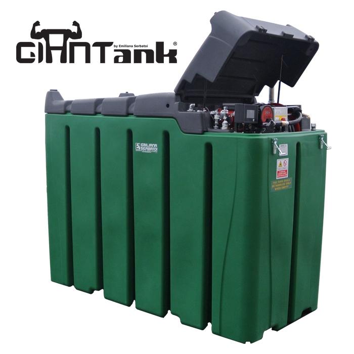 Dvojplášťová plastová nádrž na naftu 3300 litrov - G-TANK MAX