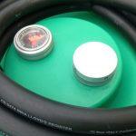 Mobilná nádrž na benzín 330L - el.čerpadlo 230V ATEX