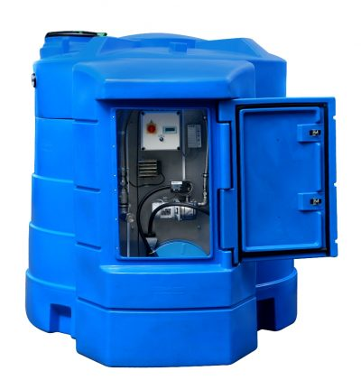 Dvojplášťová nádrž na AdBlue - BlueMaster systém TMS 5000 litrov , navíjač