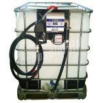 Nádrž IBC 600 litrov + výdajná zostava WALLTECH 100l/min - 230V