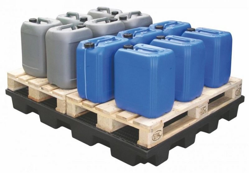 Skladovacia polyethylénová plošina 240 litrov