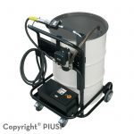 Mobilný vozík na sudy VISCONTROLL GEAR 120/1, zubové čerpadlo DC 12V + prietokomer