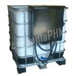 Nádrž IBC 1000 litrov+ výdajná zostava Armadillo 85l/min - 12V