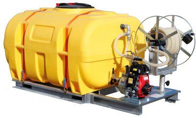 Mobilný zavlažovací systém BWS 130-PE - objem 2000 litrov