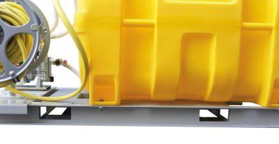 Mobilný zavlažovací systém BWS 130-PE - objem 600 litrov