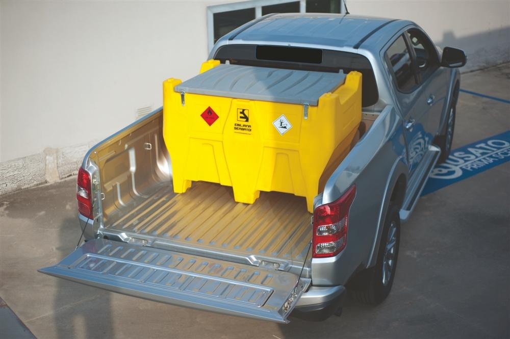 Kombinovaná nádrž na naftu a AdBlue 400/50 L, 230V PICK-UP