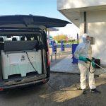 Postrekovač aj na dezinfekciu 440 litrov - el.čerpadlo 12V