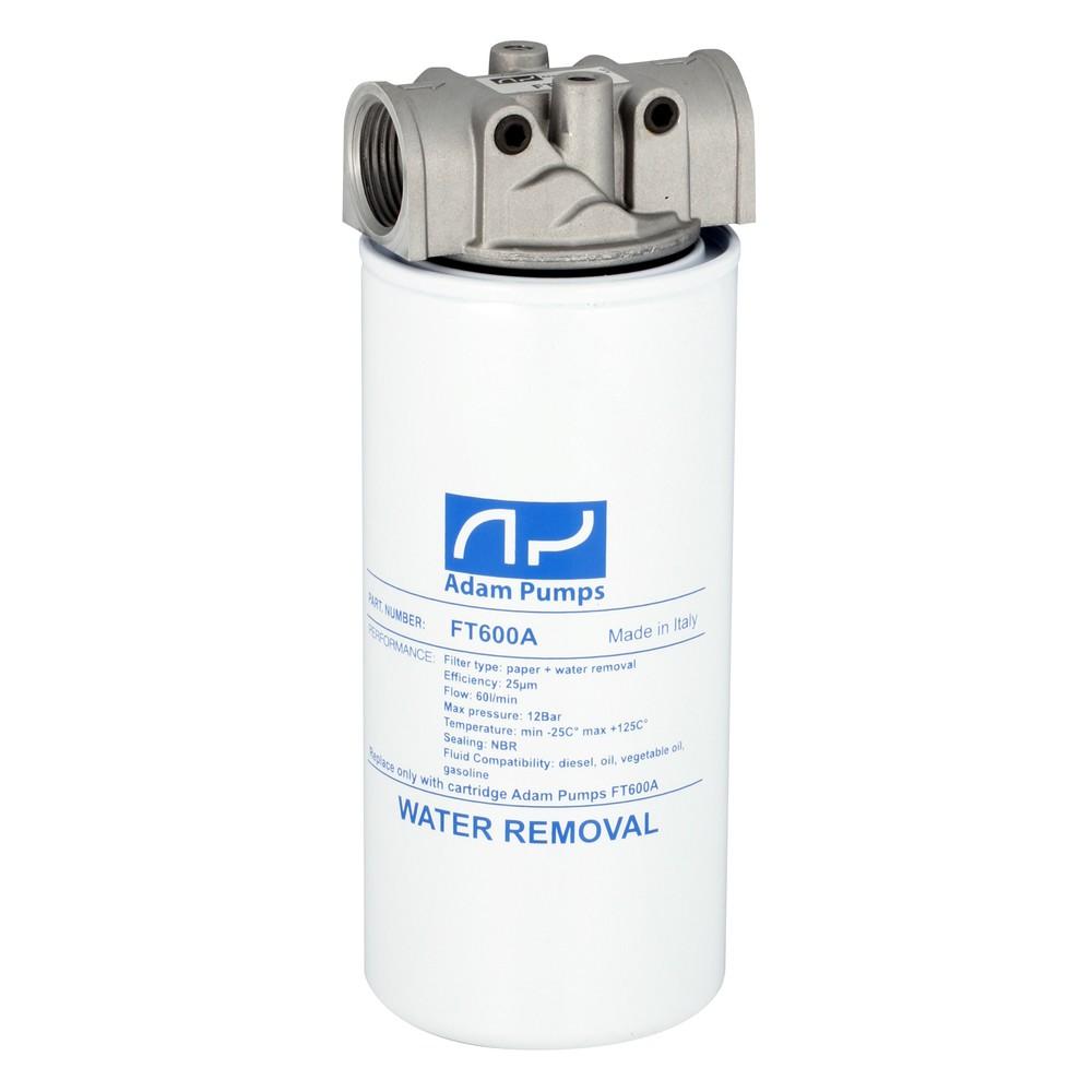 Filter s vodným separátorom 25Mic - 90l/min +hlava filtra