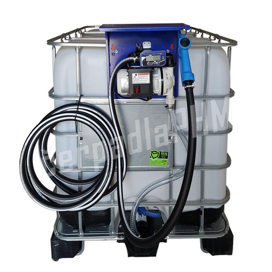 IBC nádrž na AdBlue 1000 litrov+ výdajná zostava BLUETECH MANUAL