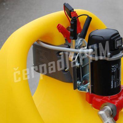 Mobilná nádrž na naftu 110L – el.čerpadlo 12V