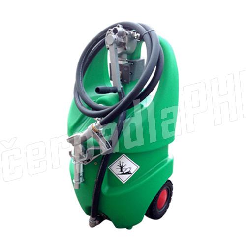 Mobilná nádrž 110 litrov – ručné rotačné čerpadlo