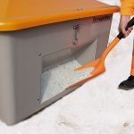 Nádoba na posypový materiál GRP - 1500 litrov s otvorom na lopatu