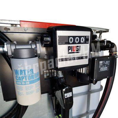 Nádrž IBC 600 litrov+ výdajná zostava Panther 72l/min M - 230V