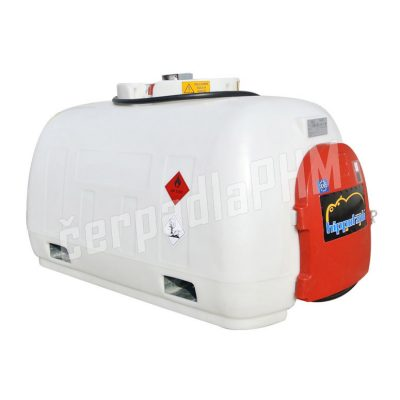 Mobilná nádrž na naftu HIPPOTANK 980 litrov, 12V MAX