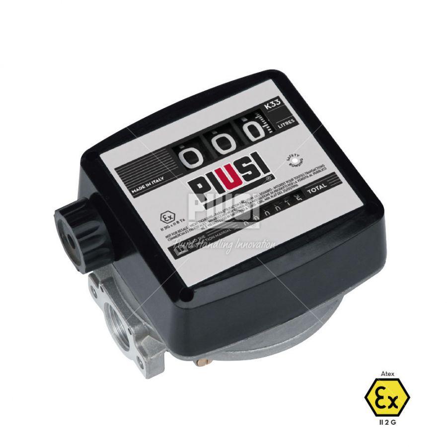 Analógový prietokomer na benzín K33 / ATEX