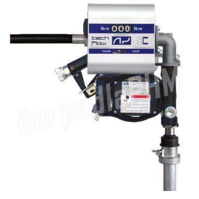 Čerpacia zostava s prietokomerom na sudy DRUM TECH 60 l/min-230V