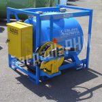 Mobilná nádrž na benzín TRASPO ® 910 litrov