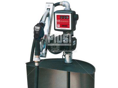 Sudová zostava na oleje PIUSI DRUM Viscomat 70M -230V, lamelové čerpadlo s meračom